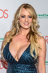 ***FILE PHOTO*** Stormy Reveals Trump Tryst Details In 60 Minutes Interview. More to come. LAS VEGAS, NV - JANUARY 27: Stormy Daniels at the AVN Awards at the Hard Rock Hotel ©. 27 Jan 2018 Pictured: Stormy Daniels. Photo credit: DC/MPI/Capital Pictures / MEGA TheMegaAgency.com +1 888 505 6342