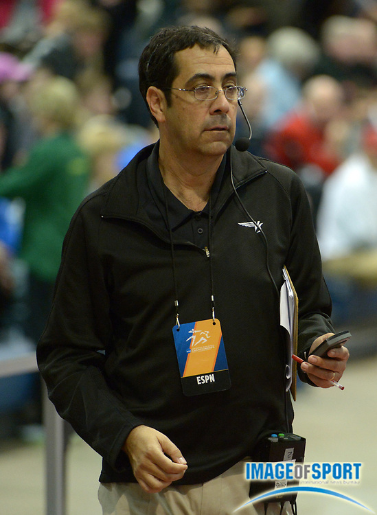 Mar 14, 2014; Albuquerque, NM, USA; David Glassman at the 2014 NCAA Indoor Championships at Albuquerque Convention Center.