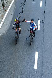 13-09-2017 SUI: BvdGF Tour du Mont Blanc day 5, Champex<br /> Deze etappe wordt volledig in Zwitserland verreden en bevat enkele mooie trails. We eindigen bergop waar er in Champex werd overnacht. Marielle, Beatriz