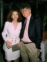 MR & MRS GORDON GETTY he is the multi millionaire, at a party in London on 27th May 1997.LYT 16