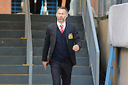 Ryan Giggs arriving for the Barclays Premier League match between Crystal Palace and Manchester United at Selhurst Park, London, England on 31 October 2015. Photo by Ellie Hoad.