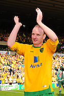 London - Saturday, April 17th 2010: Gary Doherty celebrates after the final whistle at Coca Cola League One match at Carrow Road, Norwich..(Pic by Alex Broadway/Focus Images)