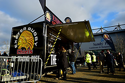The Trading Post outside Sandy Park prior to kick off - Mandatory by-line: Ryan Hiscott/JMP - 29/12/2019 - RUGBY - Sandy Park - Exeter, England - Exeter Chiefs v Saracens - Gallagher Premiership Rugby
