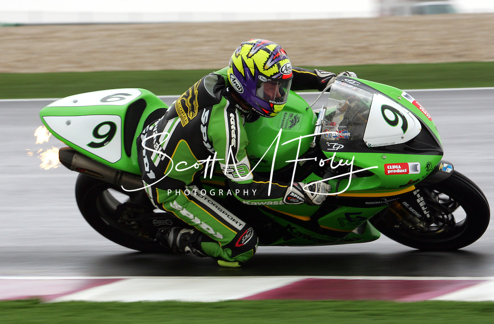 World SBK, Superbikes, Losail International Circuit, Practice Runs, SS and SB, Doha, Qatar, 23 Feb 06