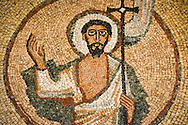 A mural of Jesus Christ in the chapel of the Mekane Yesus Seminary in Addis Ababa, Ethiopia, on Tuesday, Nov. 11, 2014. LCMS Communications/Erik M. Lunsford