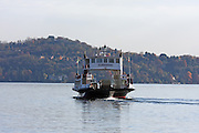 Italy, Lake Maggiore, ferry boat