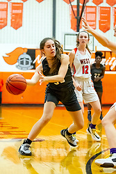 20 February 2020:  Lincoln Way West Warriors v Normal Community West Wildcats for the IHSA Girl's Regional in the gym at Normal Community in Normal IL<br /> <br /> 33