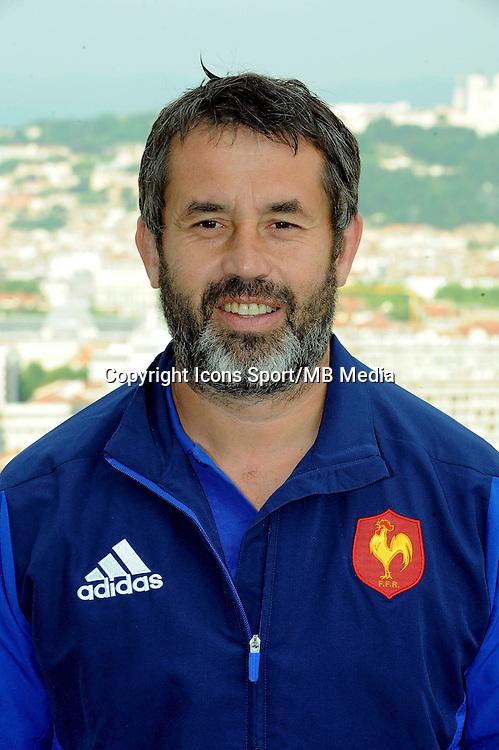 Frederic POMAREL - 10.06.2015 - Presentation du Lyon Seven's - Grand Prix Series 2015 - Lyon<br />Photo : Jean Paul Thomas / Icon Sport