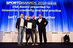 Sports Awards & Brands ceremony during Sports marketing and sponsorship conference Sporto 2018, on November 22, 2017 in Hotel Slovenija, Congress centre, Portoroz / Portorose, Slovenia. Photo by Vid Ponikvar / Sportida