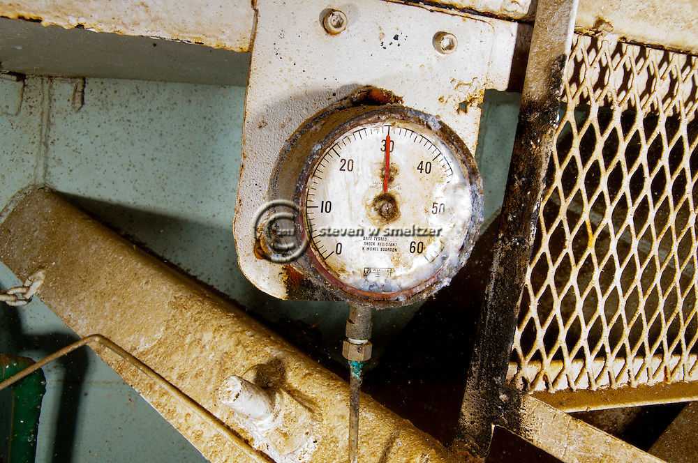 Pressure Gauge, USS Kittiwake, Grand Cayman