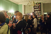 KATIE GRAHAM, The Love-charm of Bombs. Restless Lives in the Second World War. By Lara Feigel - book launch party. Bloomsbury Publishing, 50 Bedford Square, London, WC1, 17 JANUARY 2012.