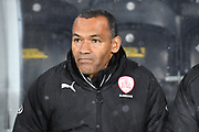 Barnsley FC manager Jose Morais during the EFL Sky Bet Championship match between Hull City and Barnsley at the KCOM Stadium, Kingston upon Hull, England on 27 February 2018. Picture by Ian Lyall.