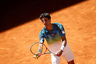 Thomas Bellucci during the Madrid Open at Manzanares Park Tennis Centre, Madrid<br /> Picture by EXPA Pictures/Focus Images Ltd 07814482222<br /> 02/05/2016<br /> ***UK &amp; IRELAND ONLY***<br /> EXPA-ESP-160502-0088.jpg