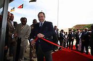 inauguration of  Headquarters Caixa Totta in Huambo.