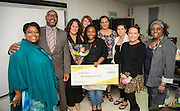 North Early College student Evelle Young is awarded a $10,000 Nordstrom TEN4U Scholarship, October 31, 2013.