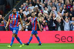 Goal, Ngolo Kante of Chelsea puts Chelsea 1-0 up over Chelsea - Mandatory by-line: Jason Brown/JMP - 14/10/2017 - FOOTBALL - Selhurst Park - London, England - Crystal Palace v Chelsea - Premier League