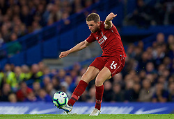 LONDON, ENGLAND - Saturday, September 29, 2018: Liverpool's captain Jordan Henderson during the FA Premier League match between Chelsea FC and Liverpool FC at Stamford Bridge. (Pic by David Rawcliffe/Propaganda)