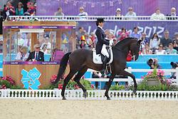 Kiseliova, Svetlana, Parish<br /> London - Olympische Spiele 2012<br /> <br /> Dressur Grand Prix de Dressage<br /> © www.sportfotos-lafrentz.de/Stefan Lafrentz