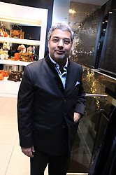 The MAHARAJAH OF KAPURTHALA at the MCM Christmas party held at their store at 5 Sloane Street, London on 26th November 2008.