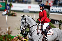 Van Roosbroeck Catherine, (BEL), Gautcho Da Quinta <br /> Furusiyya FEI Nations Cup presented by Longines<br /> CHIO Rotterdam 2016<br /> © Hippo Foto - Dirk Caremans<br /> 24/06/16