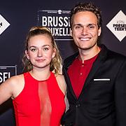 NLD/Amsterdam/20170119 - Premiere Brussel, Pip Pellens en partner Pim Wessels