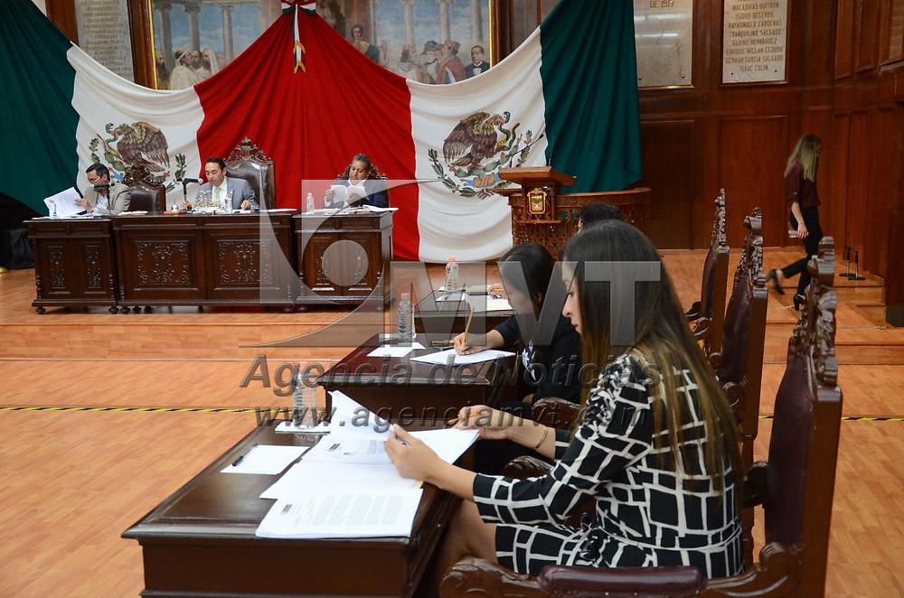 Toluca, México.- (Junio 21 2017).- Aspectos de la diputación permanente en la LIX Legsilatura del Estado de México. Agencia MVT / Arturo Hernández.