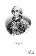 Georges-Louis Leclerc, Comte de Buffon (1707-1788) French naturalist. Author of 44 volume 'Histoire Naturelle' 1749-1767. Lithograph, (Paris, c1830).