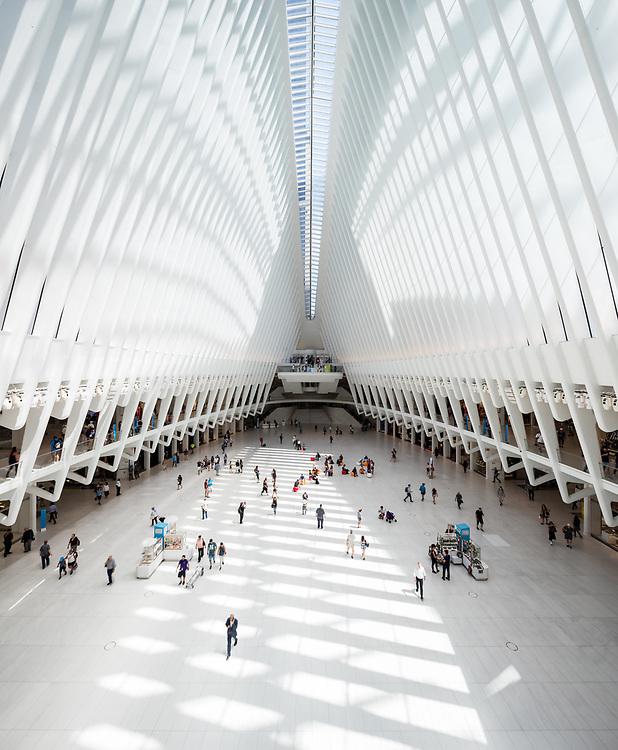 The Oculus | Santiago Calatrava | New York City, New York