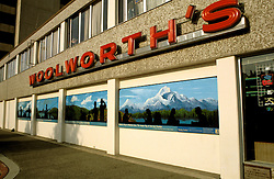 Alaska: Anchorage. Mural in downtown. Photo akanch105..Photo copyright Lee Foster, 510/549-2202, lee@fostertravel.com, www.fostertravel.com