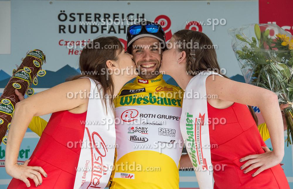 04.07.2016, Steyr, AUT, Ö-Tour, Österreich Radrundfahrt, 2. Etappe, Mondsee nach Steyr, im Bild Andrea Pasqualon (ITA, Team Roth) // during the Tour of Austria, 2nd Stage from Mondsee to Steyr, Austria on 2016/07/04. EXPA Pictures © 2016, PhotoCredit: EXPA/ Reinhard Eisenbauer