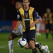Alex Wilkinson in action  during the group H group stage match between the Central Coast Mariners of Australia and Pohang Steelers of Korea in Gosford, Australia on March 11 2009, The match ended in a 0-0 draw. Photo Tim Clayton