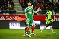 Deception Ricky VAN WOLFSWINKEL - 10.01.2015 - Reims / Saint Etienne - 20eme journee de Ligue 1<br />Photo : Dave Winter / Icon Sport