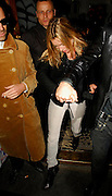 02.OCTOBER.2007. LONDON<br /> <br /> A VERY DRUNK KATE MOSS LEAVING THE GROUCH CLUB, SOHO AT 12.30AM WITH SOME FRIENDS AND THEN GOING BACK HOME.<br /> <br /> BYLINE: EDBIMAGEARCHIVE.CO.UK<br /> <br /> *THIS IMAGE IS STRICTLY FOR UK NEWSPAPERS AND MAGAZINES ONLY*<br /> *FOR WORLD WIDE SALES AND WEB USE PLEASE CONTACT EDBIMAGEARCHIVE - 0208 954 5968*