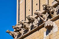 France, Côte-d'Or (21), Paysage culturel des climats de Bourgogne classés Patrimoine Mondial de l'UNESCO, Dijon, église Notre Dame, gargouilles // France, Burgundy, Côte-d'Or, Dijon, Unesco world heritage site, Notre Dame Church