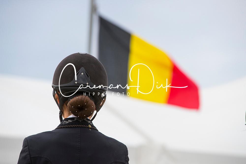 Charlotte Defalque<br /> Flanders Dressage Event 2018<br /> © DigiShots