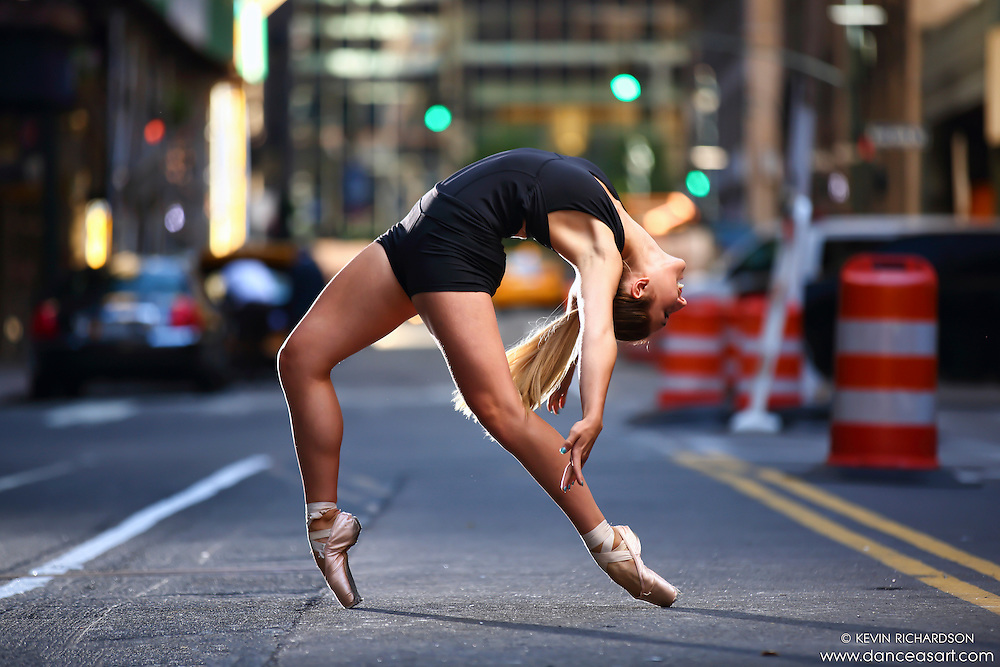 Dance As Art New York City Photography Project Midtown Manhattan with ballet dancer, Mykaila Symes