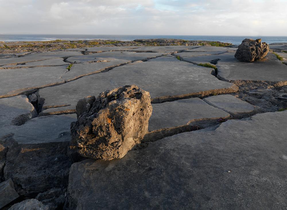 Burren coast Ireland, shoreline