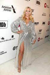 February 24, 2019 - West Hollywood, CA, USA - LOS ANGELES - FEB 24:  Busy Philipps at the Elton John Oscar Viewing Party on the West Hollywood Park on February 24, 2019 in West Hollywood, CA (Credit Image: © Kay Blake/ZUMA Wire)