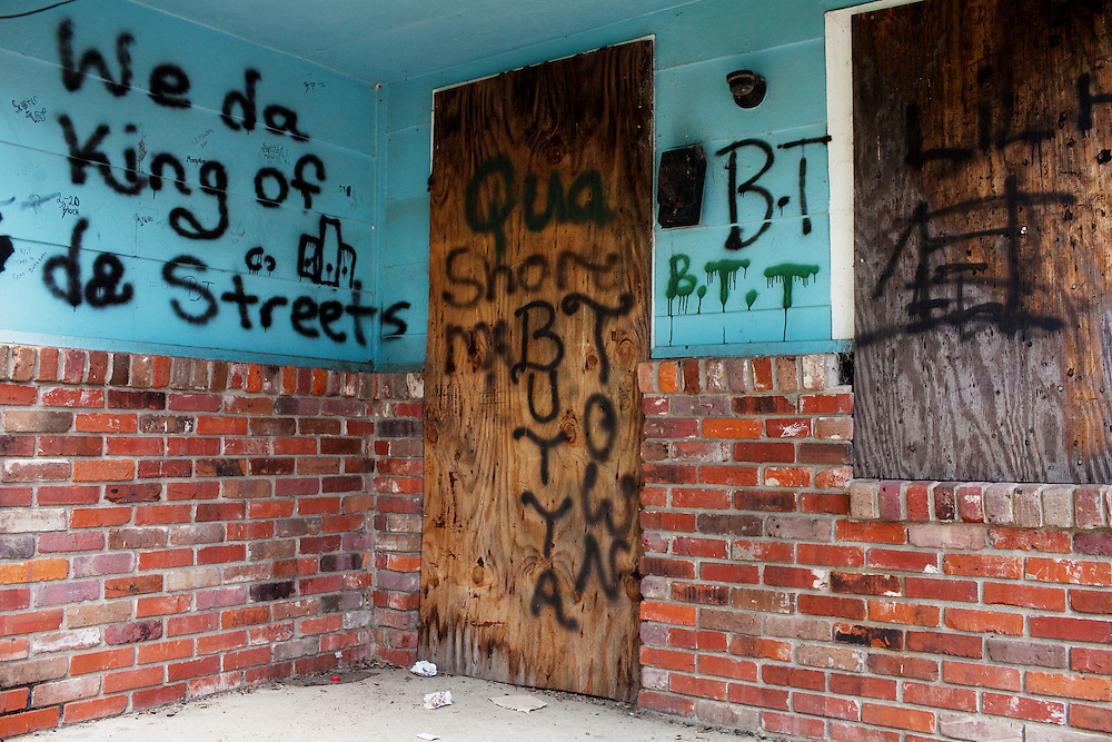 in the Baptist Town neighborhood of Greenwood, Mississippi on May 25, 2011.