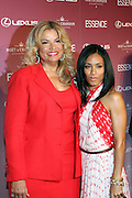 Suzanne De Passe and Jada Pickett Smith at The Essence Magazine Celebrates Black Women in Hollywood Luncheon Honoring Ruby Dee, Jada Pickett Smith, Susan De Passe & Jurnee Smollett at the Beverly Hills Hotel on February 21, 2008 in Beverly Hills, CA