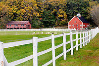 Farm near Newfane Vermont USA