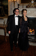 Elizabeth Esteve and Pyrros Vardinoyannis. Alexander Krasner 50th birthday. Wrotham Park, Herts. 10 February 2005. ONE TIME USE ONLY - DO NOT ARCHIVE  © Copyright Photograph by Dafydd Jones 66 Stockwell Park Rd. London SW9 0DA Tel 020 7733 0108 www.dafjones.com