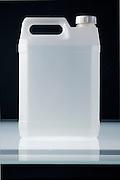 semi transparent plastic canister