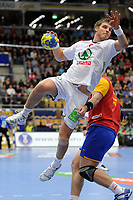 HANDBALL - 22ND MEN'S WORLD CHAMPIONSHIP SWEDEN 2011 - JONKOPING (SWE) - SPAIN (32) vs NORWAY (27) - 22/01/2011 - BJARTE MYRHOL (NOR) - PHOTO : FRANCK FAUGERE / DPPI