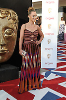 LONDON - MAY 27: Miranda Raison attends the Arqiva British Academy Television Awards at the Royal Festival Hall, London, UK. May 27, 2012. (Photo by Richard Goldschmidt)