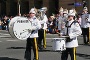 Marching band in 2005 ANZAC day Parade