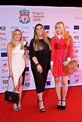 LIVERPOOL, ENGLAND - Thursday, May 10, 2018: Guests arrives on the red carpet for the Liverpool FC Players' Awards 2018 at Anfield. (Pic by David Rawcliffe/Propaganda)