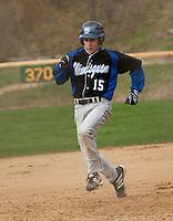 Inter Lakes versus Winnisquam varsity baseball Division III NHIAA May 5, 2011.