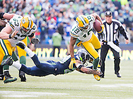 2015 NFC Championship game between the Seattle Seahawks against the Green Bay Packers, on January 18, 2015 in Seattle, WA .(Tom Hauck/ AP Images)