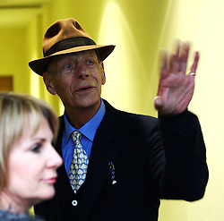Sir Henry Cecil, 10-time champion trainer, has died at the age of 70.<br /> Responsible for 25 British Classic winners, Cecil was also the leading handler at Royal Ascot with a record 75 successes.<br /> Sir Henry Cecil waves goodbye to the career of Frankel after his final race at Ascot in the Qipco Champion Stakes at Ascot. 20/10/2012.<br /> Photo by: Racingfotos.com / i-Images.
